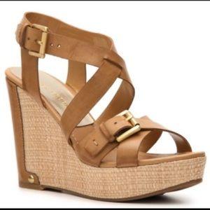 Audrey Brooke Hollie Wedge Sandal
